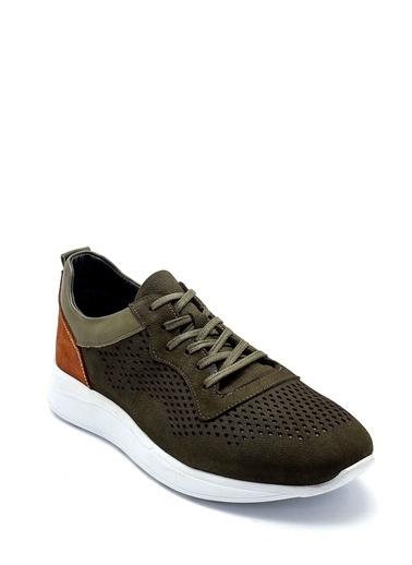 Derimod Erkek Ayakkabı(4029-058) Sneaker Yeşil